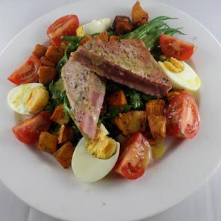 Fresh Ahi Tuna Nicoise Salad