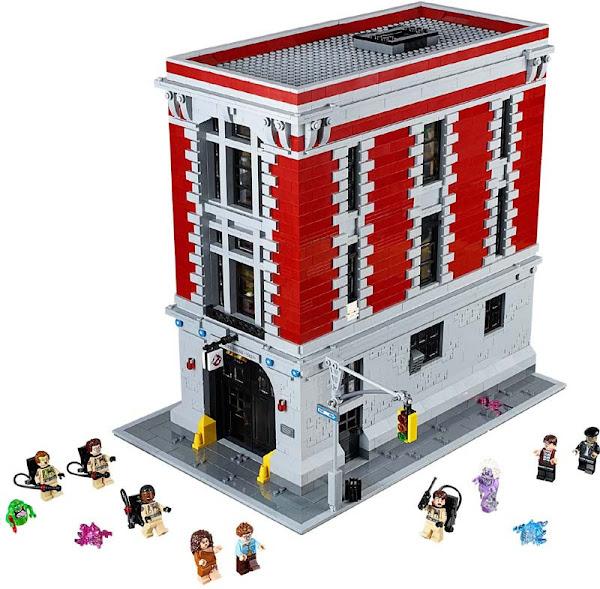 Contenido de Lego® 75827 Base de la Estación de Bomberos
