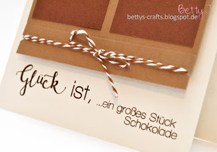 Photo: http://bettys-crafts.blogspot.com/2016/03/gluck-ist-ein-groes-stuck-schokolade.html