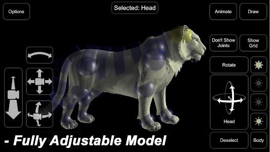 Tiger Mannequin 1.3