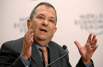 Photo: DAVOS/SWITZERLAND, 26JAN12 - Ehud Barak, Deputy Prime Minister and Minister of Defence of Israel captured during the session 'Responsible Leadership in Times of Crisis' at the Annual Meeting 2012 of the World Economic Forum at the Swiss Alpine High School (SAMD) in Davos, Switzerland, January 26, 2012.  Copyright by World Economic Forum swiss-image.ch/Photo by Remy Steinegger
