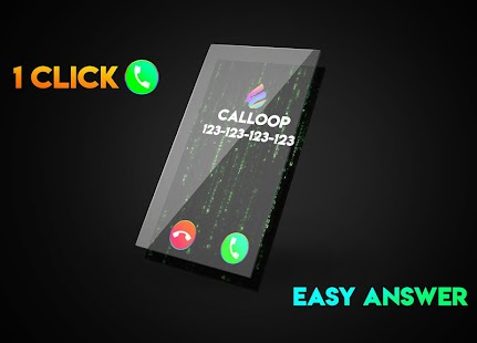 Flash Call, Color Call Phone 💎 Calloop Pro Screenshot