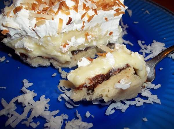 ~ Coconut Cream Pie Bars ~ Recipe