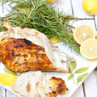 Thyme, Rosemary & Yogurt Marinated Turkey Breast.