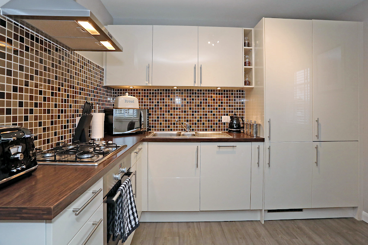 Kitchen at Inverurie apartment