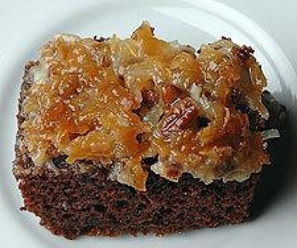 German Chocolate Banana Cake Recipe