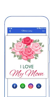 Happy Mother's Day Stickers - náhled