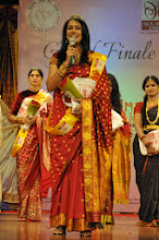 Photo: THE WINNER OF THE PAGEANT SRIMATHI SILK MARK