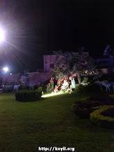 Photo: beautiful live-size exhibition of krishNa leelA