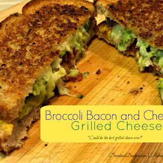 Broccoli, Bacon and Grilled Cheese Sandwiches.