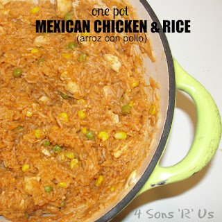 {One Pot Wonder} Mexican Chicken & Rice Recipe