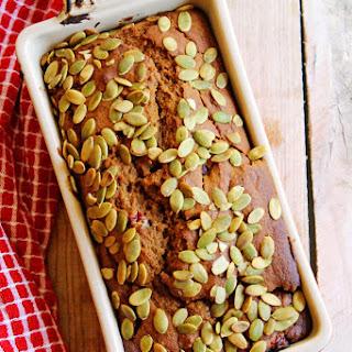 Whole grain pumpkin cranberry rye bread {Recipe Redux}