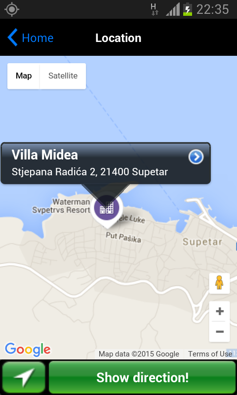 Villa Midea- screenshot