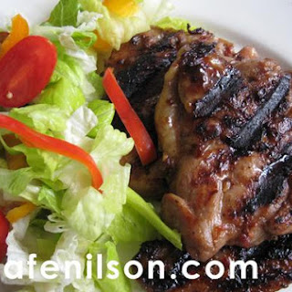 Hoisin Marinated Grilled Chicken