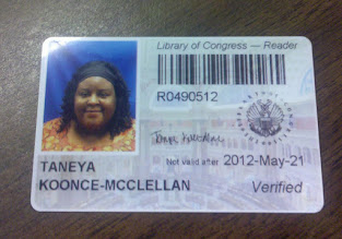 Photo: My Researcher Card!