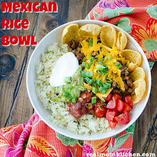 Mexican Rice Bowl Recipe