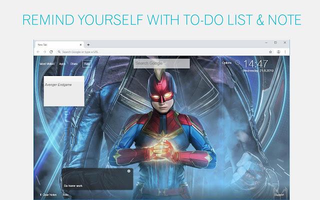 Avengers Endgame HD Wallpapers New Tab Themes