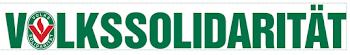Banner: «Volkssolidarität».
