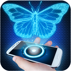 Hologram 3D Simulator Prank