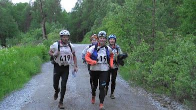 Photo: Лидеры бегут с трекинга
