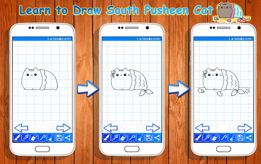 Download Learn to Draw Pusheen Cat Characters on PC & Mac