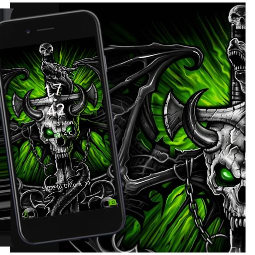 Beelzebub skull dragon theme