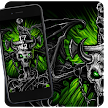 Beelzebub skull dragon theme APK