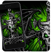 Beelzebub skull dragon theme
