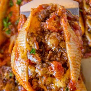 Cheesy Taco Stuffed Shells.