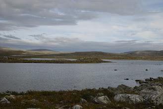 Kuva: Saarijärven tuvan edustalla oleva järvi