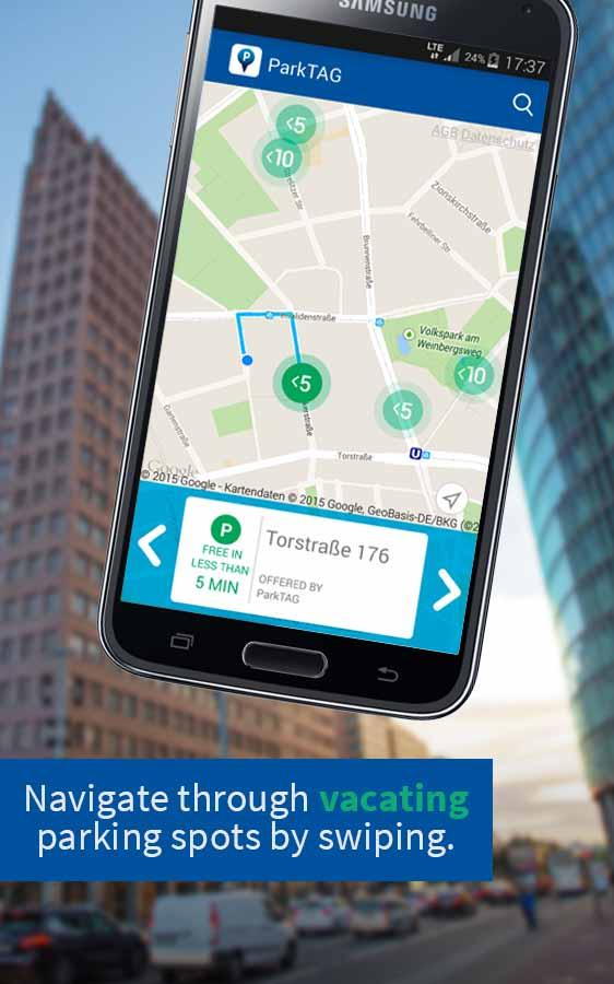 ParkTAG Social Parking- screenshot