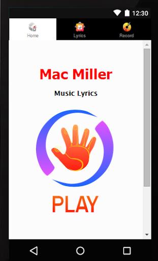 Lyrics Mac Miller