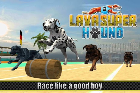 Lava Hound Racing Competition: How to win dog race - náhled