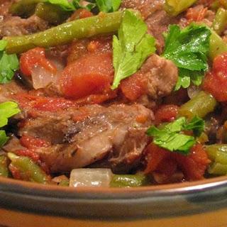 Greek Lamb Stew.