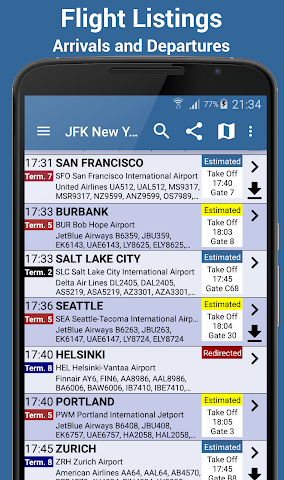 Screenshot 1 Alicante Airport FlightPal Pro