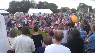 Photo: The Magic Show drew a large crowd