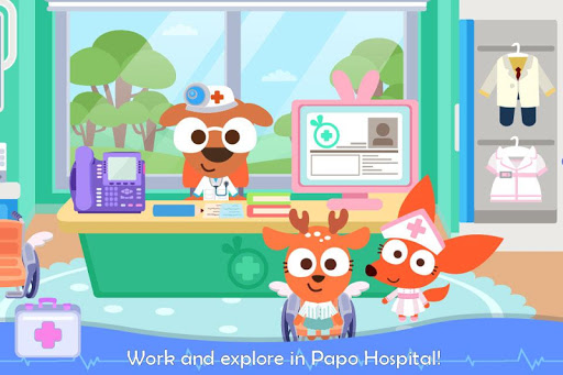 Papo Town: Hospital filehippodl screenshot 1