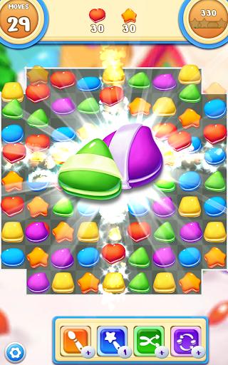 Cookie Macaron Pop : Sweet Match 3 Puzzle filehippodl screenshot 13