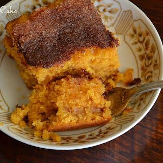 Deliciously Moist Cinnamon Cake.