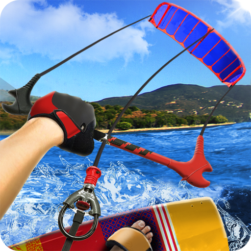 Simulator Kite Surfer