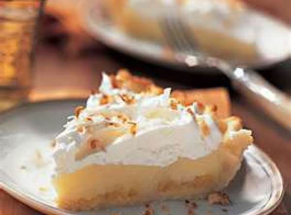 Pineapple Coconut Cream Pie Recipe