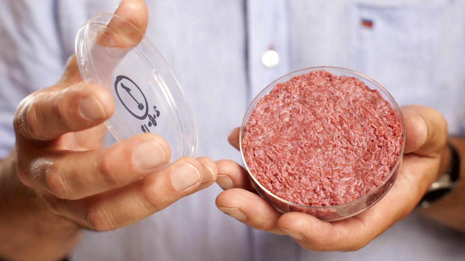 Lab-grown meat by a biotech company Memphis Meats
