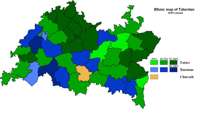 ile:Ethnic map of Tatarstan (2010).PNG