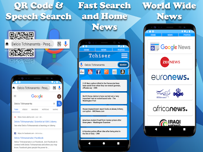 Tchiser – Internet explore & Web Browser Apk Latest Version Download For Android 2