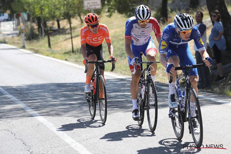 Deceuninck-Quick.Step levert nieuw huzarenstukje af in Vuelta, aanval op Roglic gaat dan toch niet door