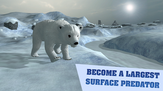 Arctic Bear Survival Simulator screenshot 0