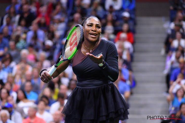 Net geen perfect parcours voor Serena Williams: Amerikaanse verliest samen met Wozniacki de finale in het dubbelspel