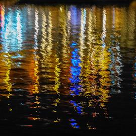Reflejos by Jesús Municio - Abstract Light Painting ( duero, reflejos )