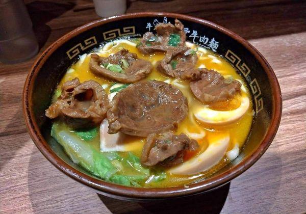 超澎派牛雞雙主餐!你絕對沒吃過的日系台式牛肉麵