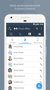 8x8 Virtual Office - náhled